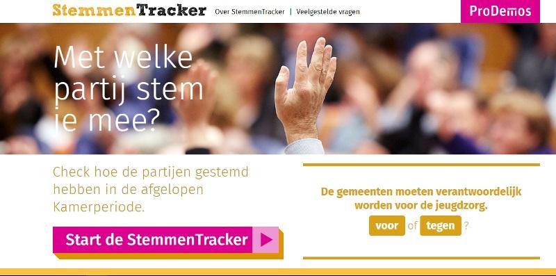Stemmentracker maakt stemwijzer en kieskompas overbodig